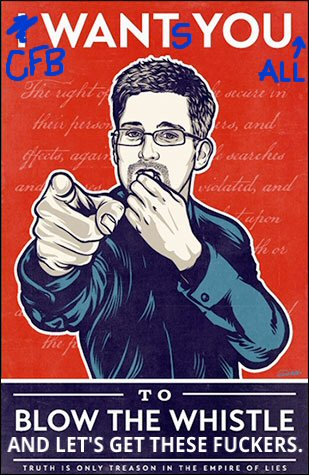 Edward Snowden's call to arms
