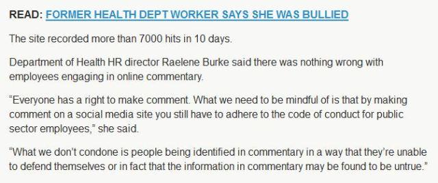 Raelene Burke NT Health HR  quote