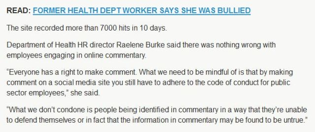 Raelene Burke NT Health HR  quote