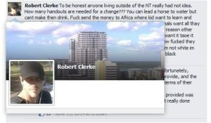Robert Clerke NT DoE p