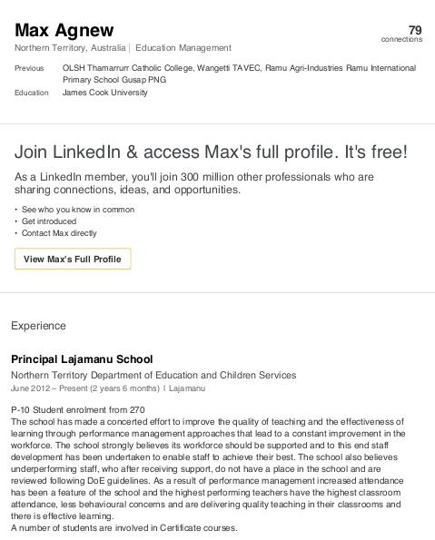 Max Agnew LinkedIn