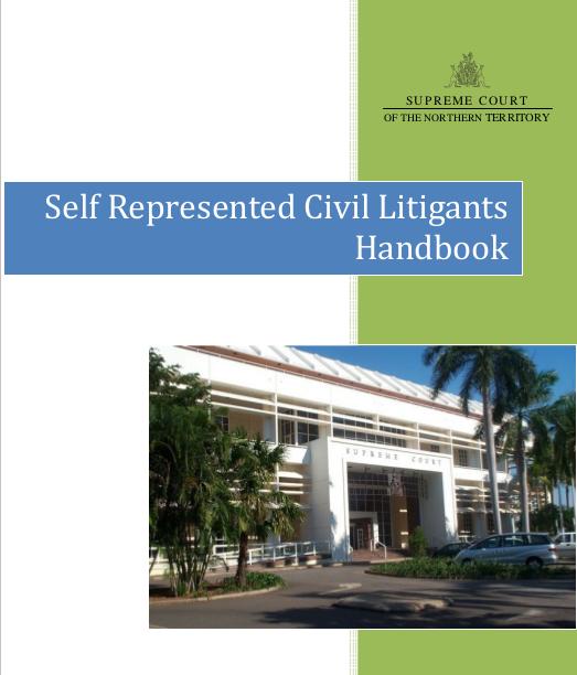 NT Self-Represented Civil Litigants Handbook
