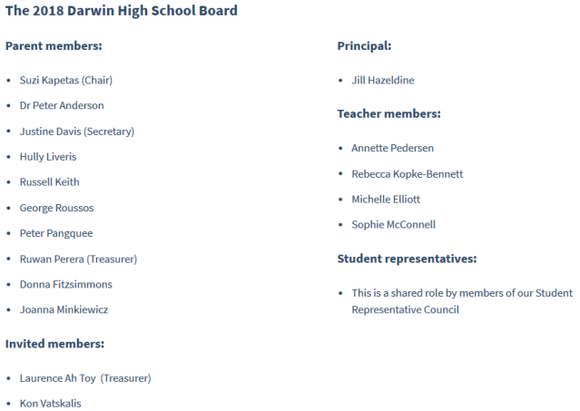 DHS Board