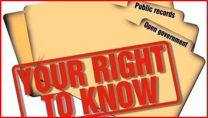 FOI - Your Right To Know